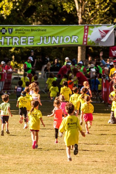 Encourage fitness with your children: Register for the Atlanta Track Club's Peachtree Junior Race