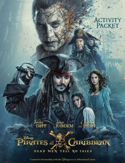Pirates of the Caribbean: Dead Men Tell No Tales Kids Activity Packet – Available in English and Spanish!