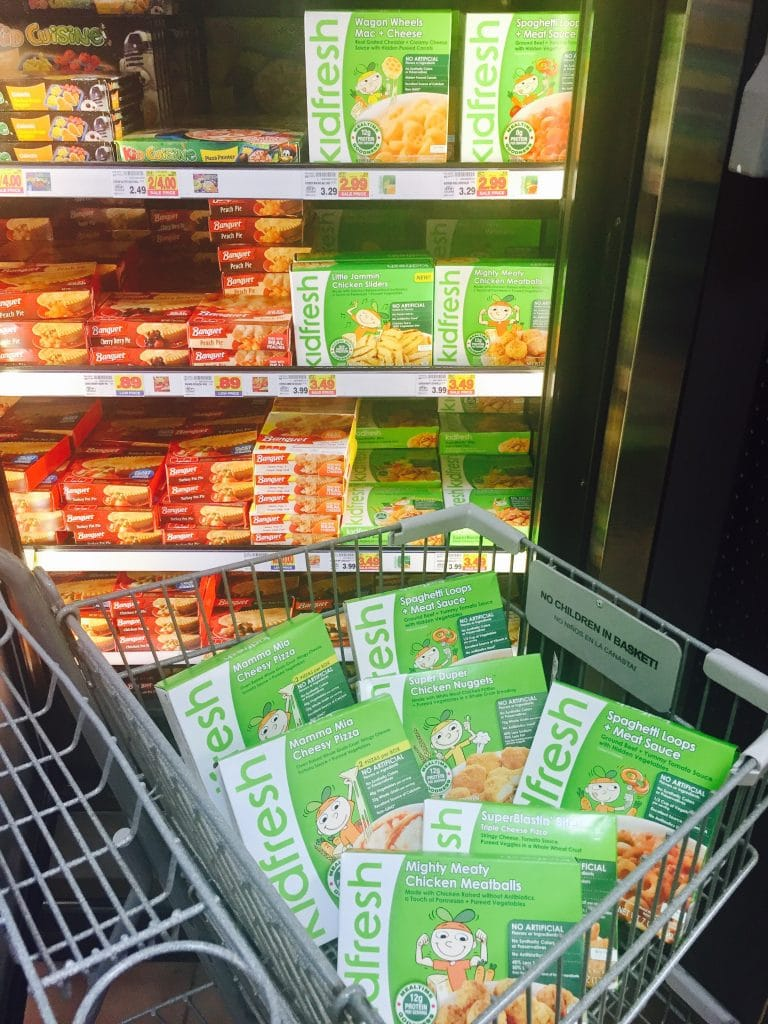 kidfresh meals available at kroger