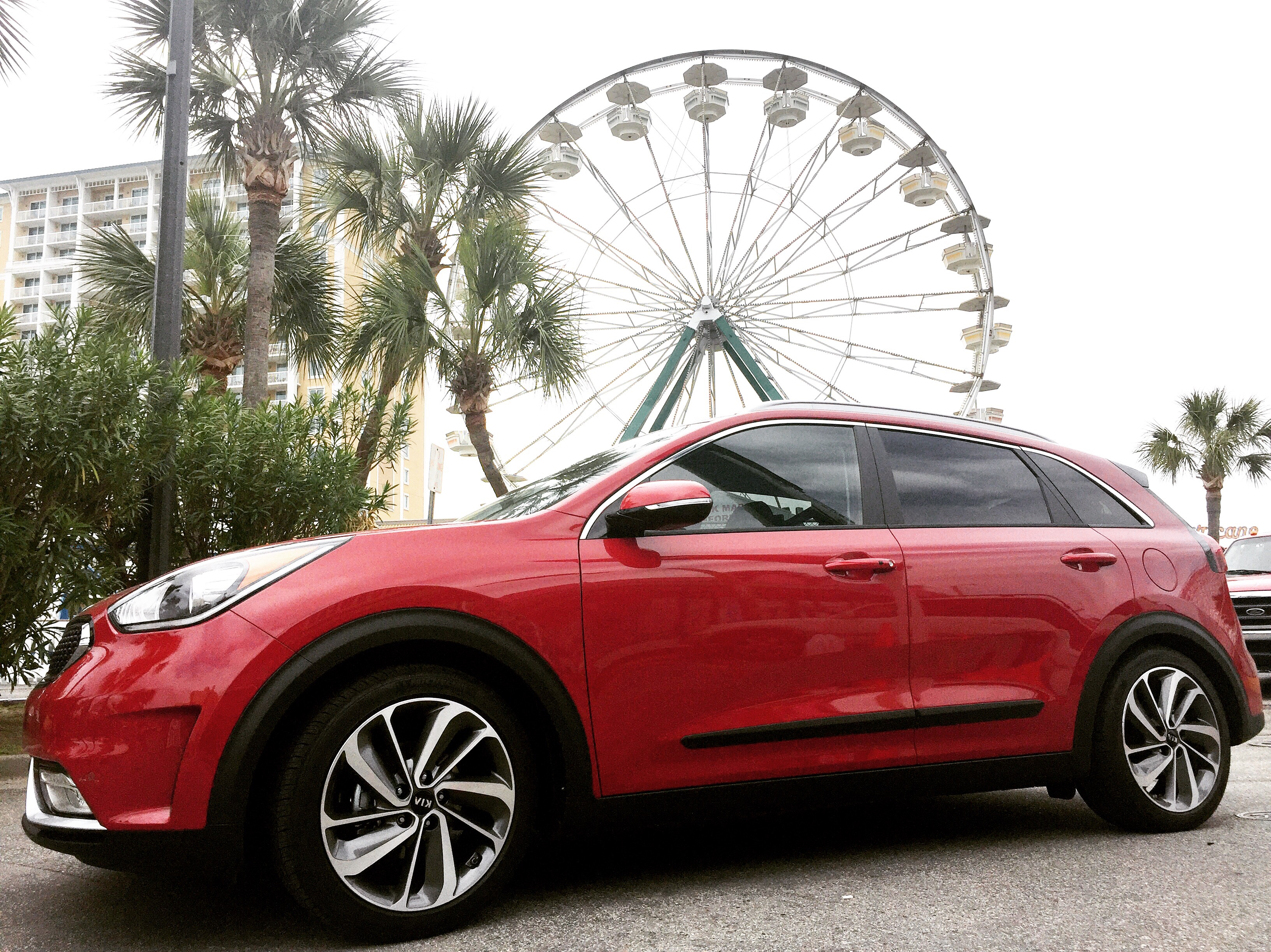 Kia Niro on Road Trips