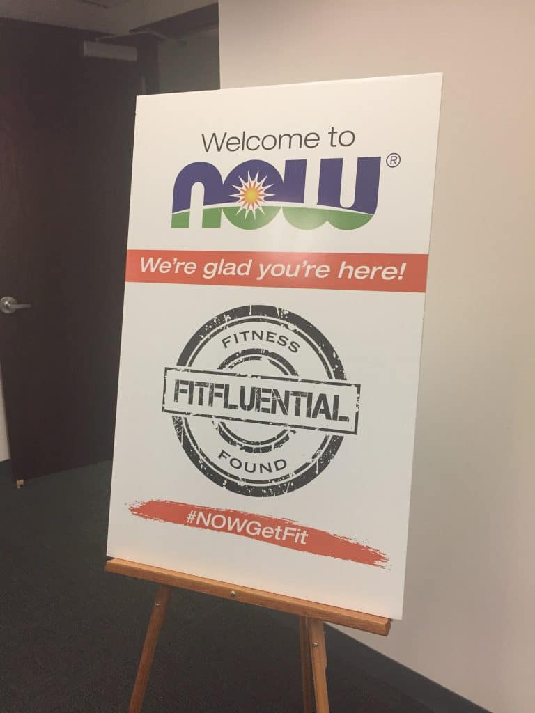 Now Foods and Fitfluential Influencer Immersion Event