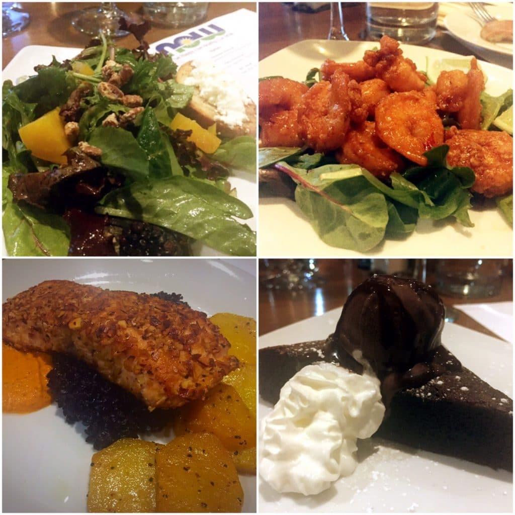 Food at Glen Prairie restaurant near Chicago