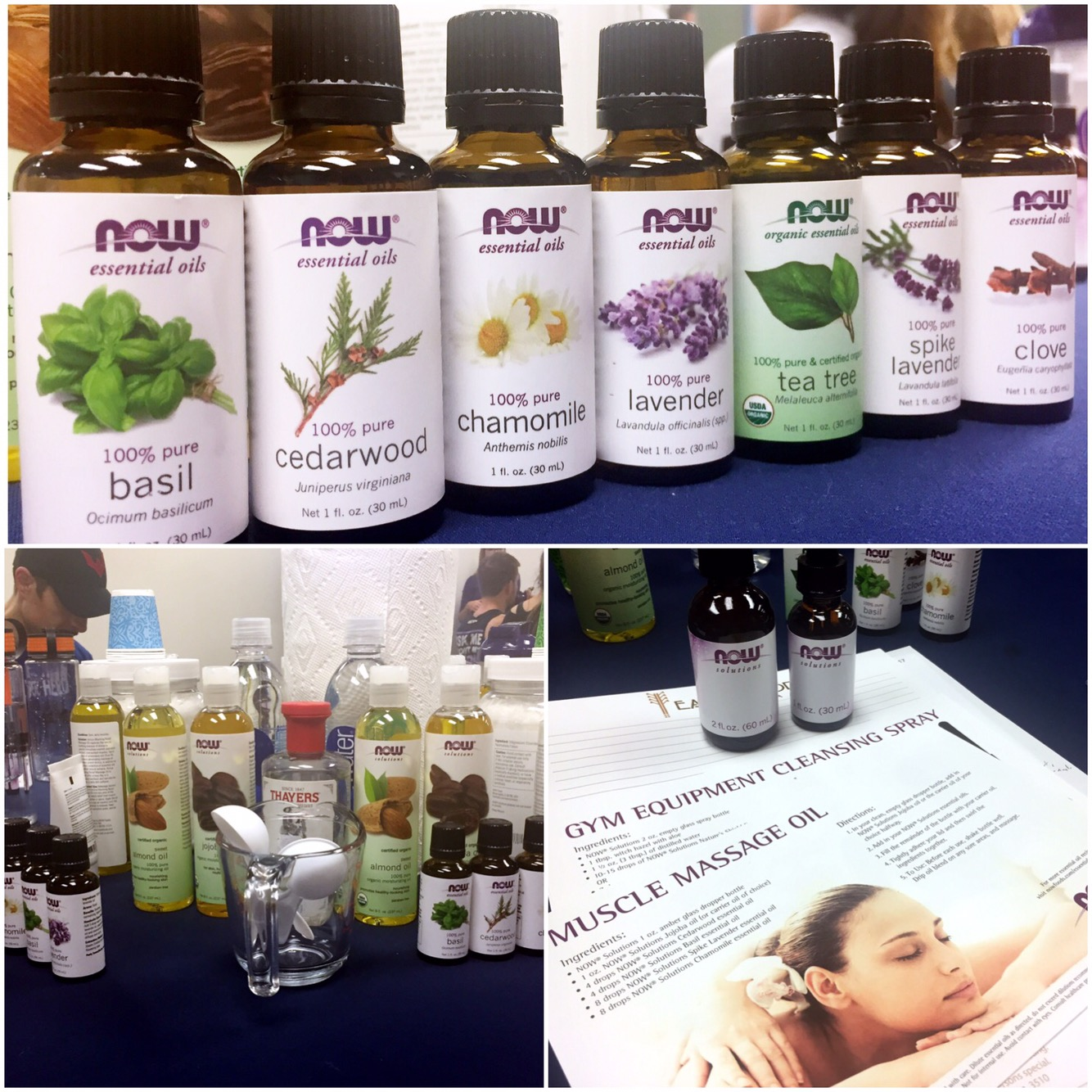 Now Essential Oils and NOW Brand Beauty Products