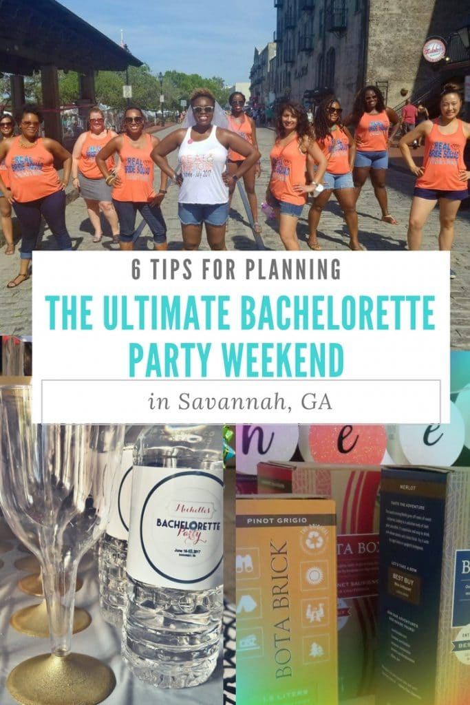 This summer, I hosted a Bachelorette Party weekend in Savannah, GA. Here are some simple tips for planning the ultimate bachelorette party or girls' getaway, sponsored by Bota Box Wine Collection.
