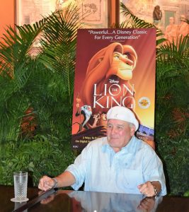Ernie Sabella voice of Pumbaa from the lion king
