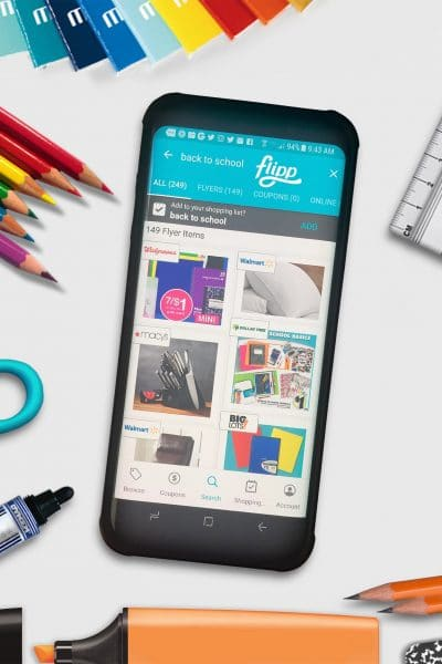 Save Time and Money on your Back to School Shopping with Flipp