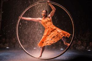 Cirque Du Soleil Luzia dancer