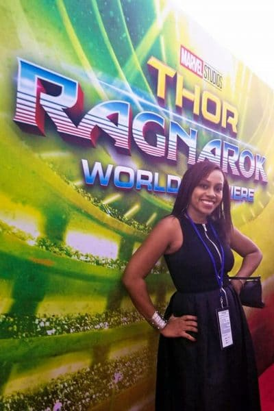 Behind the Scenes at the Thor: Ragnarok Red Carpet Premiere