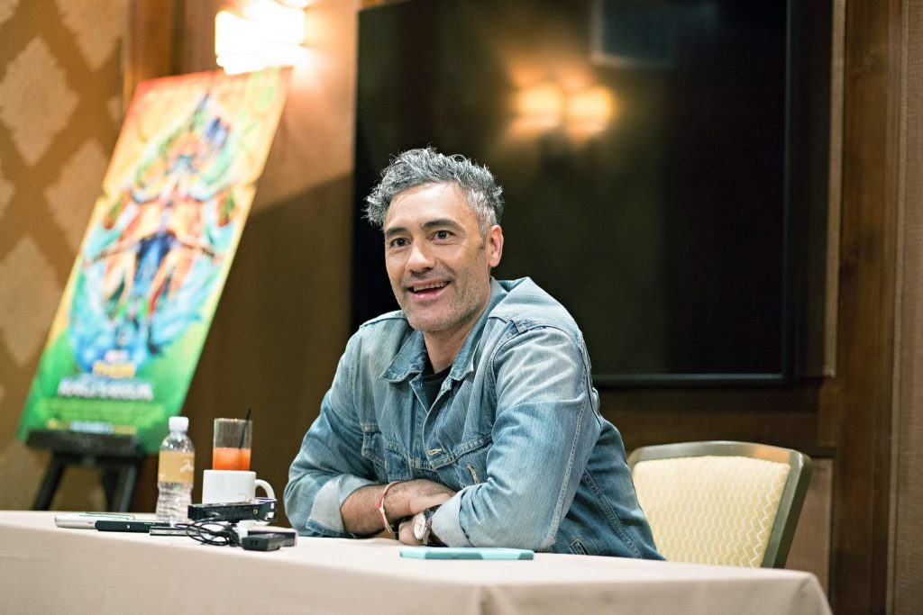 Thor Ragnarok Director Taika Waititi exclusive interview with Disney bloggers
