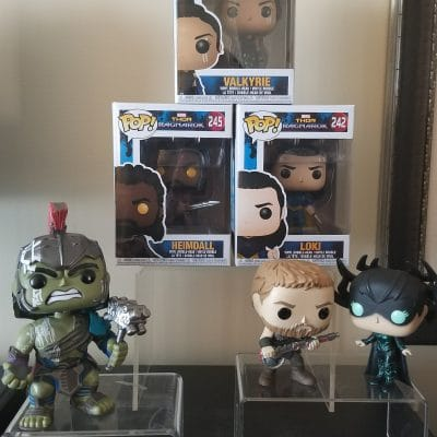 Thor Ragnarok Funko Pop Dolls - marvel gift ideas