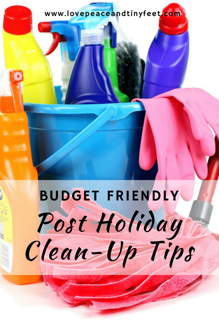 Holidays are over and it's about time to take the tree and other holiday décor down and back to their boxes in the attic. But we definitely wouldn't want to spend more money when clearing and cleaning up the house after the holidays; so here are some great, inexpensive Spring cleaning tips you will absolutely love! #springcleaning