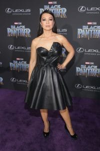 HOLLYWOOD, CA - JANUARY 29: Actor Ming-Na Wen at the Los Angeles World Premiere of Marvel Studios' BLACK PANTHER at Dolby Theatre on January 29, 2018 in Hollywood, California. (Photo by Jesse Grant/Getty Images for Disney) *** Local Caption ***