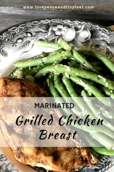 Marinated Grilled Chicken Breast
