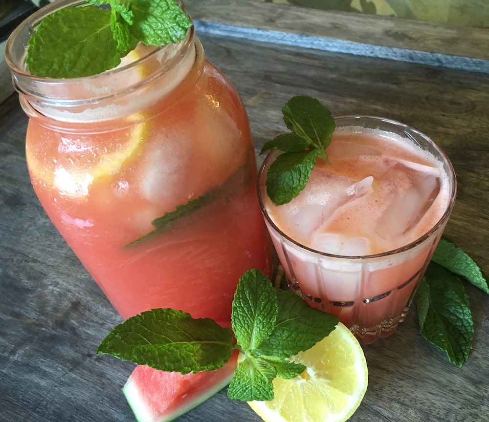 This Watermelon Mint Lemonade is a perfect refreshment on a hot summer day. With this quick and easy to make instructions, you'll have the simple yet juicy beverage. Check this out!