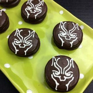 black panther inspired oreo cookie recipe