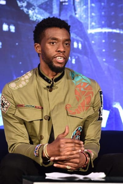 Chadwick Boseman explains why the Black Panther speaks with an African Accent: Black Panther Press Conference
