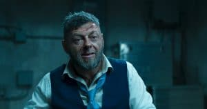 Marvel Studios' BLACK PANTHER..Ulysses Klaue (Andy Serkis)..Ph: Film Frame..