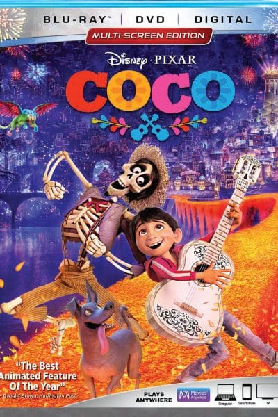 Bonus Features of Disney Pixar's Coco