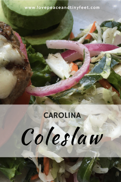 Carolina Coleslaw Recipe
