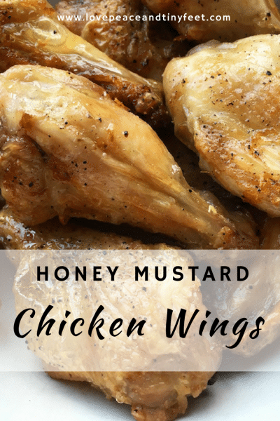 Honey Mustard Chicken Wings Recipe
