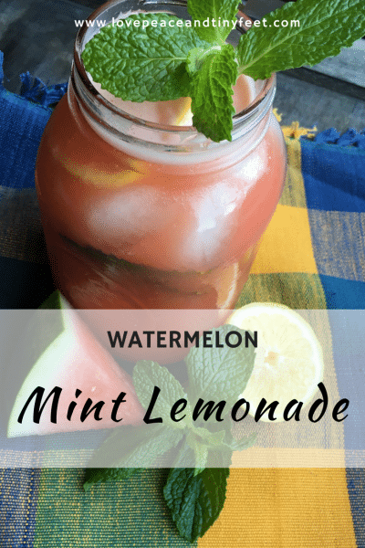 Watermelon Mint Lemonade Recipe