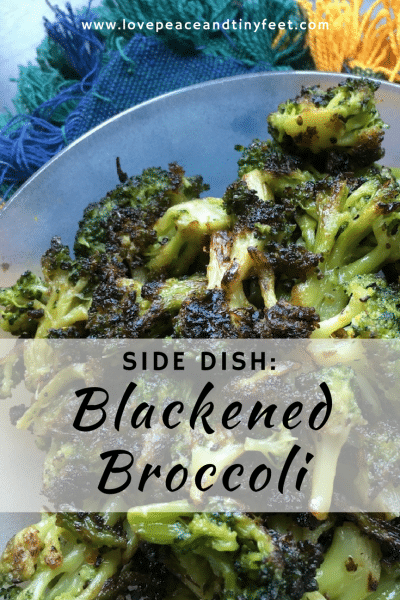 Blackened Broccoli Side Dish