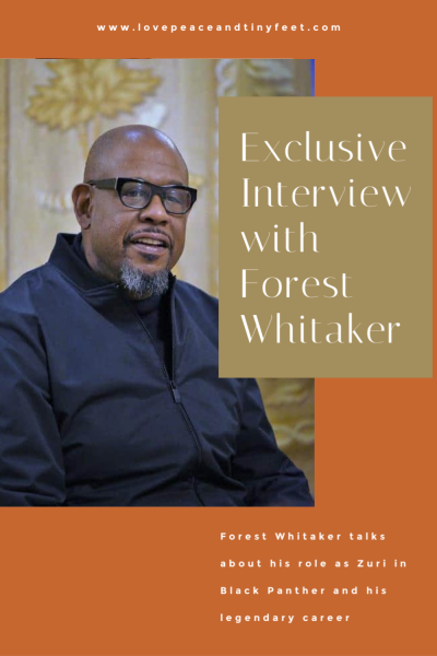 Exclusive Interview with the legendary Forest Whitaker – Black Panther