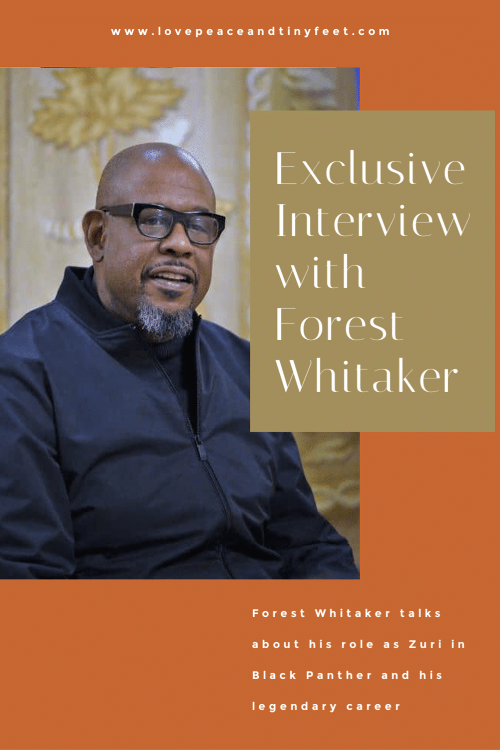 Exclusive Interview with Forest Whitaker about his role as Zuri in Black Panther, his legendary career and how he came to be a part of the Marvel Universe.