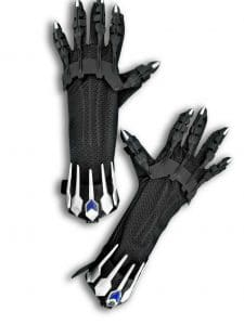 black panther gloves costume