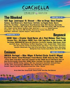 The Ultimate Coachella Packing List and More Coachella Music