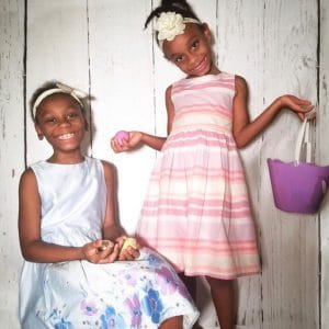 Matching Easter Dresses and the moments I wish I could have back…