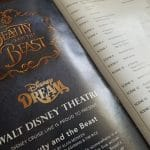 Beauty and the beast live production on the disney dream cruise