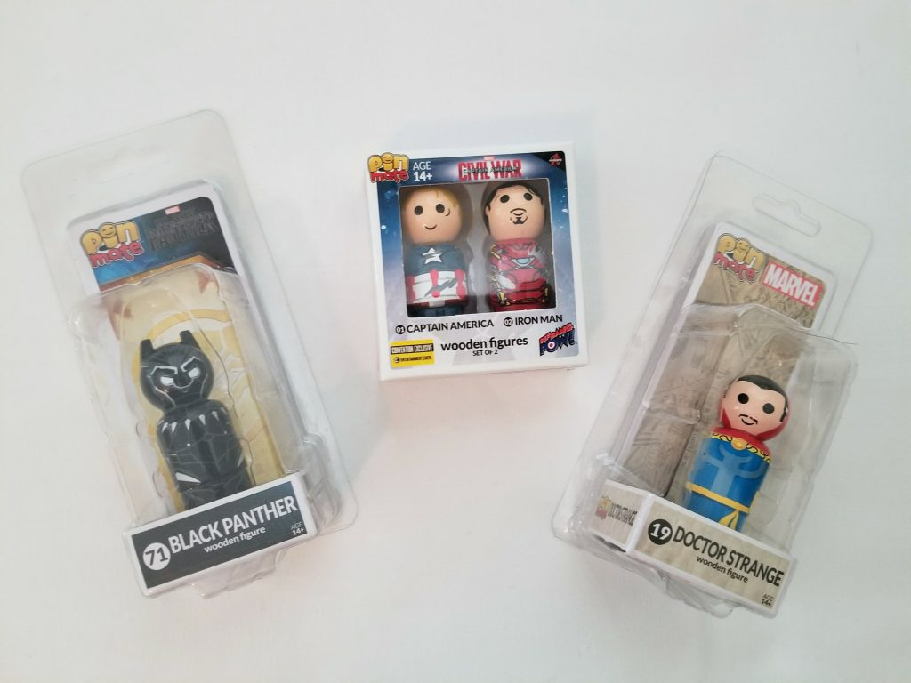 pin mate wooden toys from avengers infinity war