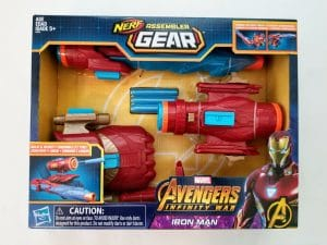 marvel toys for kids - nerf gear from Avengers Infinity War