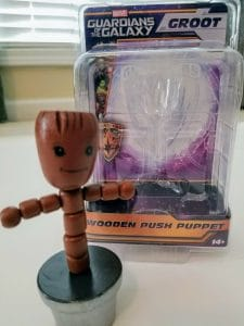 wooden push groot toy