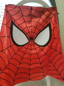 spider man cape marvel