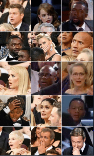 oscar audience reactions