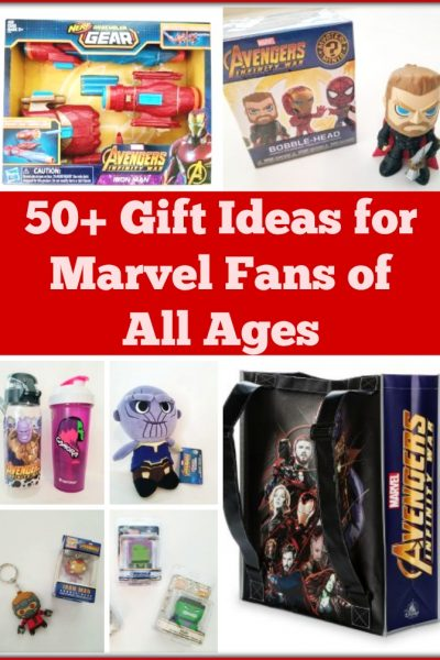 50+ Gift Ideas for Marvel Fans of All Ages
