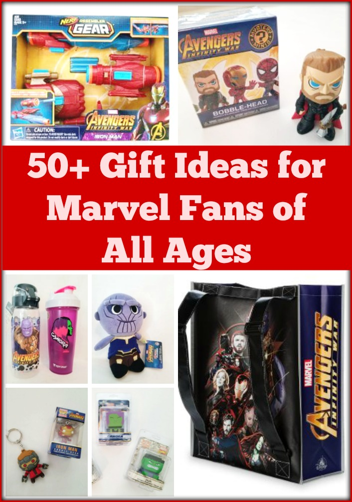 If you have a big marvel fan in your life, be sure to take a look at this complete gift guide of gift ideas for Marvel fans of all ages, featuring the latest Marvel toys and products from Avengers: Infinity War, Black Panther, Thor: Ragnarok and more!