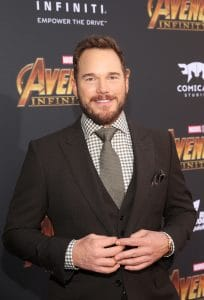 HOLLYWOOD, CA - APRIL 23: Actor Chris Pratt attends the Los Angeles Global Premiere for Marvel Studios' Avengers: Infinity War on April 23, 2018 in Hollywood, California. (Photo by Jesse Grant/Getty Images for Disney) *** Local Caption *** Chris Pratt