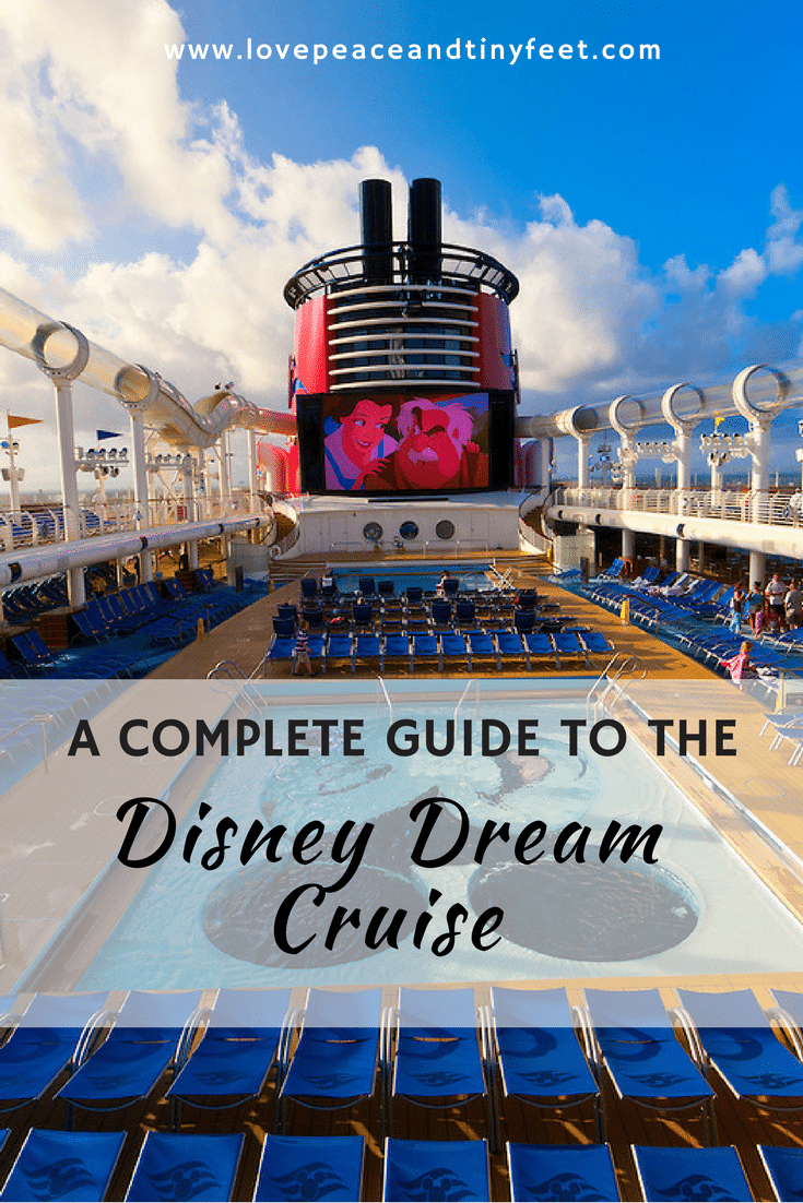 Disney Dream cruise tips guide