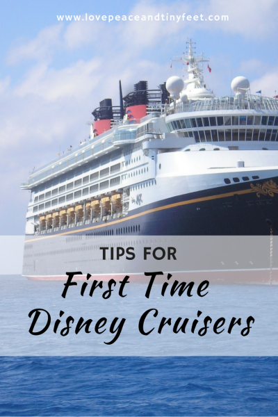 Tips for First Time Disney Cruisers