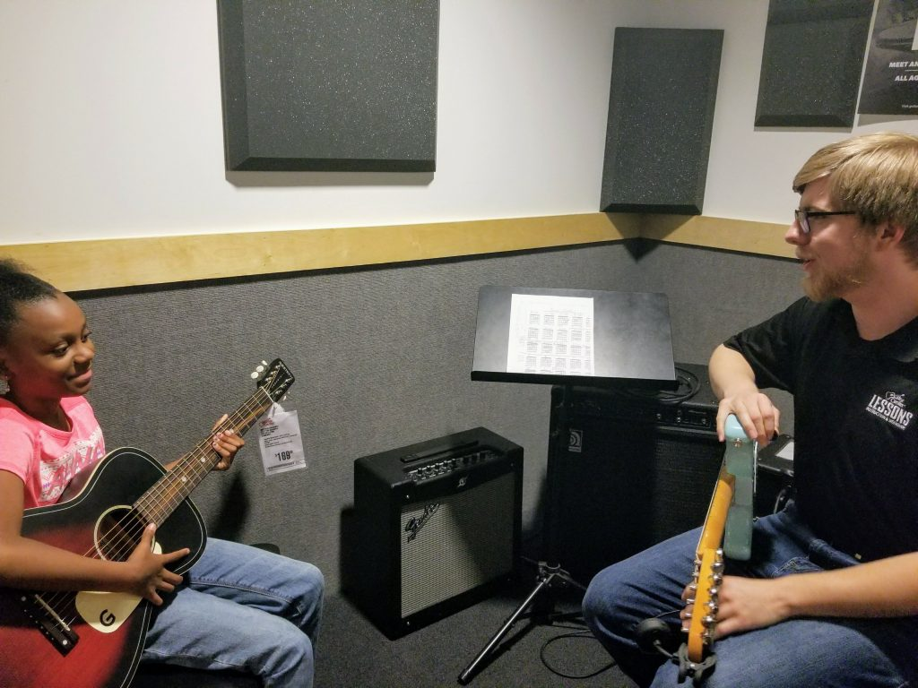 kids guitar lessons at guitar center