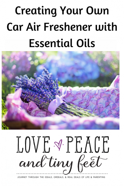 How To Make Car Air Freshener with Essential Oils