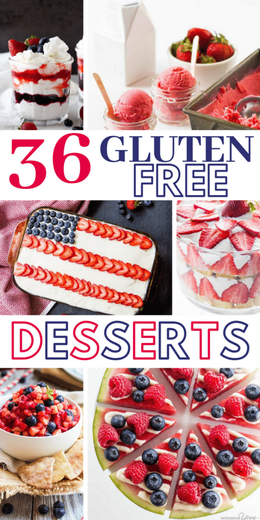 Check out these mouth watering, savory and satisfying Gluten Free Desserts. Grab all of these together with your family and friends.