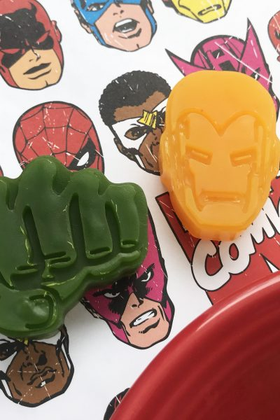 The Ultimate Superhero Party Favors Idea | DIY Avengers Soaps