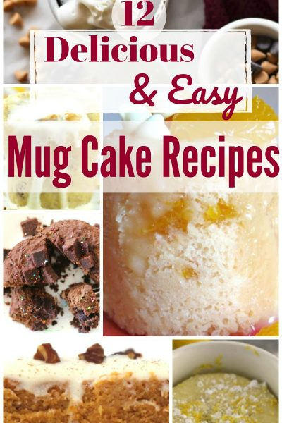 12 Delicious and Easy Mug Cake Recipes