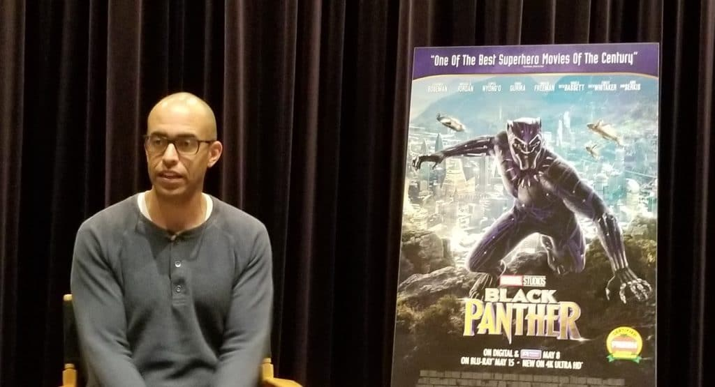 Exclusive Interview with Black Panther Executive Producer Nate Moore