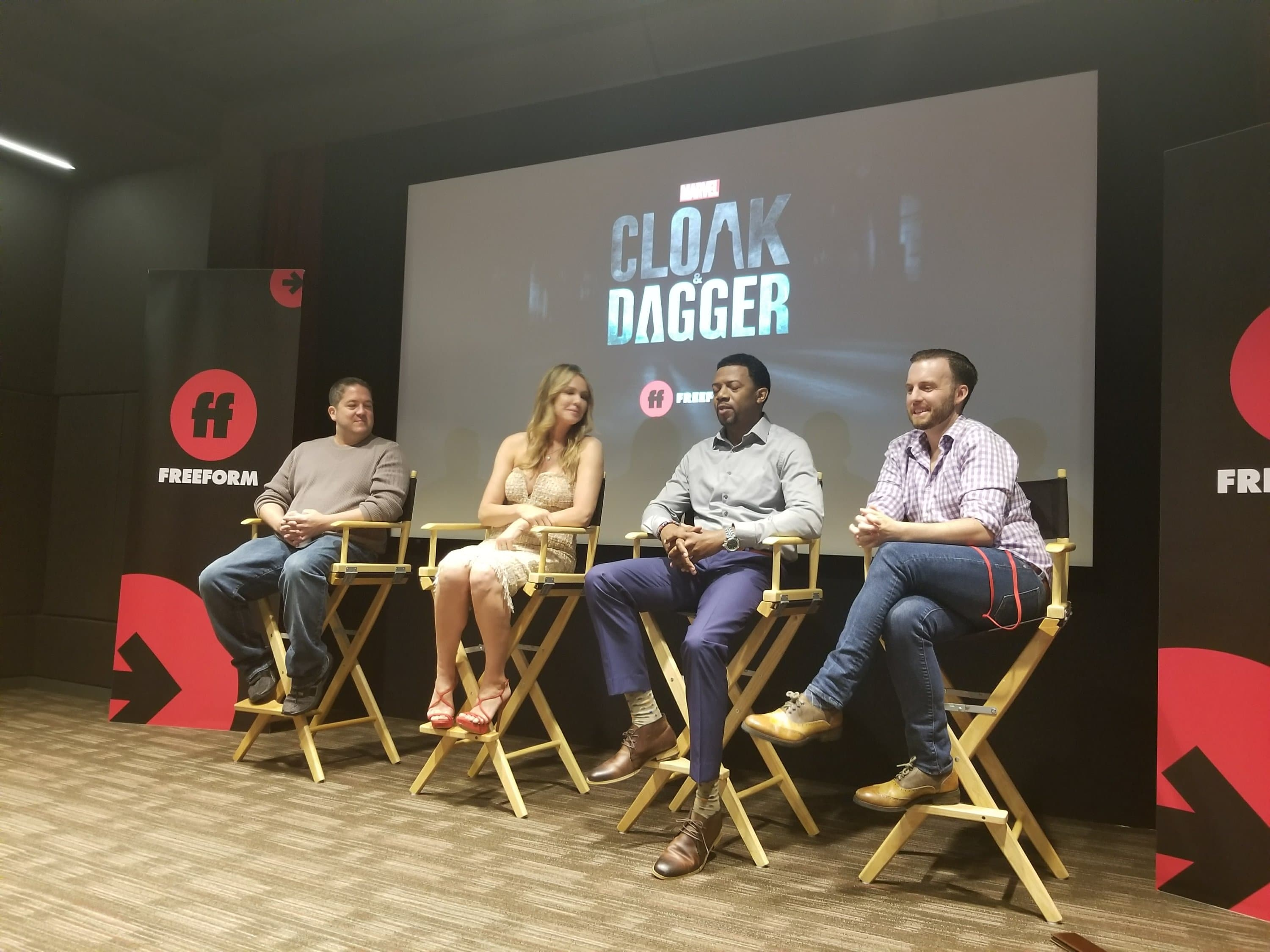 Andrea Roth and Miles Mussenden of Cloak and Dagger