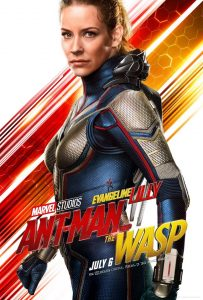 evangeline lilly plays the wasp in ant-man